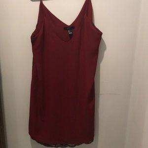 🔥3/20🔥 Forever 21 Slip Dress Lace Detail